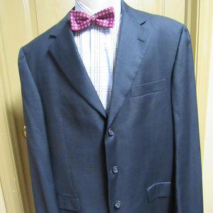Burberry Suit 43L 100% Wool